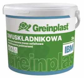 Two-component thick-layer polymer-modified bitumen compound Greinplast IBM