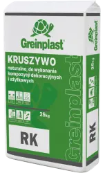 Natual aggregate for creating decorative and utility compositions  GREINPLAST RK