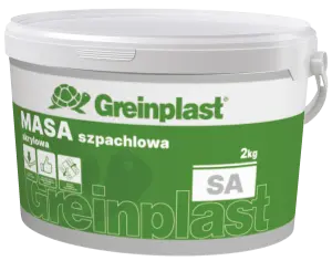 Acrylic painter's putty GREINPLAST SA