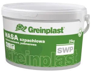 Polymer finishing putty mass GREINPLAST SWP
