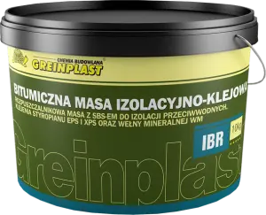 Bitumen insulation and gluing mass, solvent-based GREINPLAST IBR