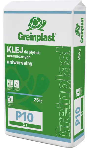 Universal glue for ceramic tiles P10 GREINPLAST P10