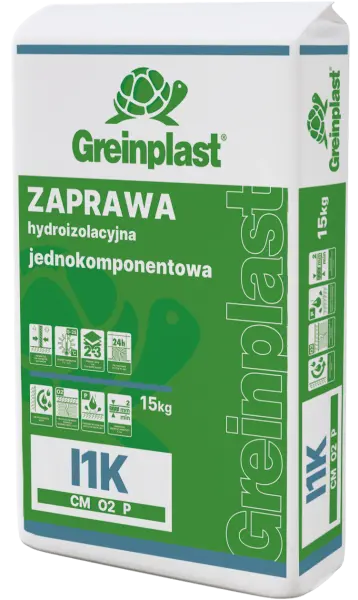 Single-component hydroinsulating mortar GREINPLAST I1K