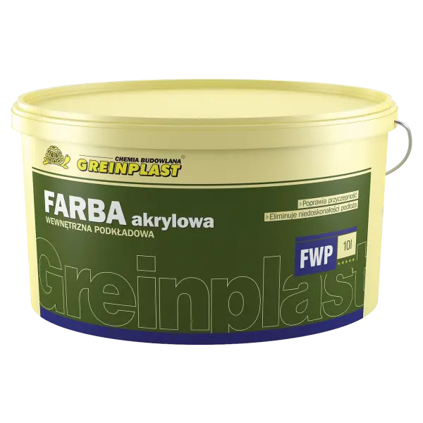 Internal, priming acrylic paint GREINPLAST FWP