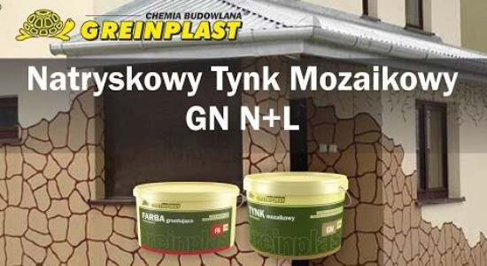 Greinplast GN N+L mosaic plaster application