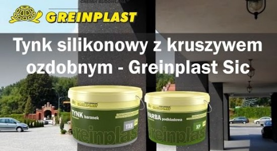 Greinplast Sic - silicone plaster with decorative aggregate